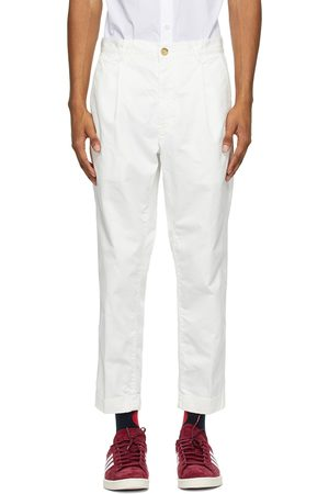 Beams Men Chinos - One-Pleat Chino Trousers