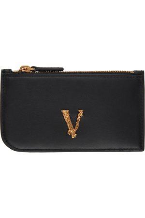 VERSACE Vitrus Zip Card Holder