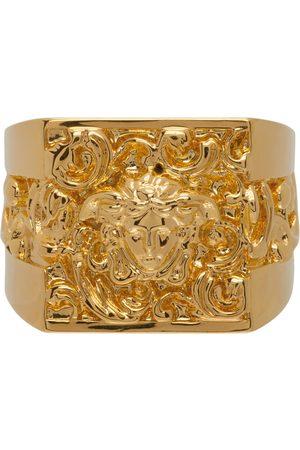 VERSACE Women Rings - Chunky Medusa Head Ring