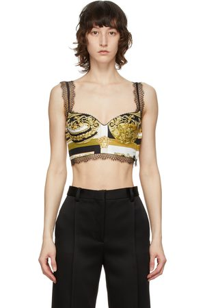 VERSACE Women Camisoles - And Lace Barocco Camisole