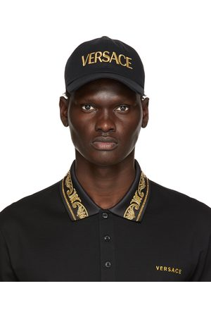 VERSACE Men Caps - And Embroidered Logo Cap