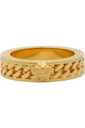 VERSACE Chain Band Ring