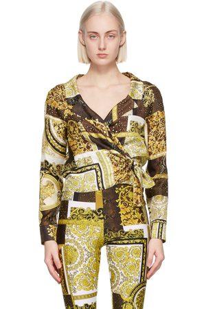VERSACE Barocco Patchwork Print Shirt