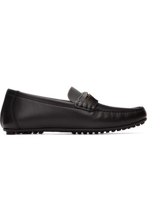 VERSACE Leather Medusa Loafers