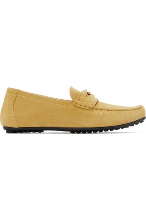 VERSACE Suede Loafers
