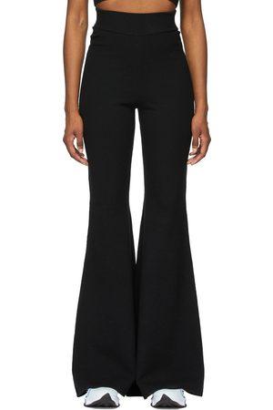 Victor Glemaud Women Wide Leg Pants - Wool Flare Lounge Pants