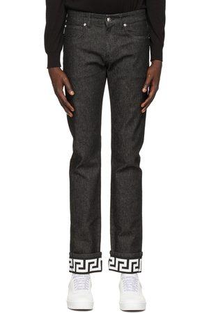 VERSACE Men Slim - Greca Slim-Fit Jeans