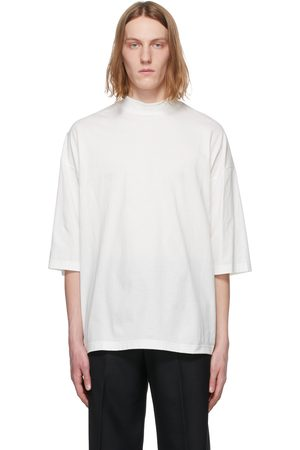 Sasquatchfabrix. Men T-shirts - Mock Neck T-Shirt