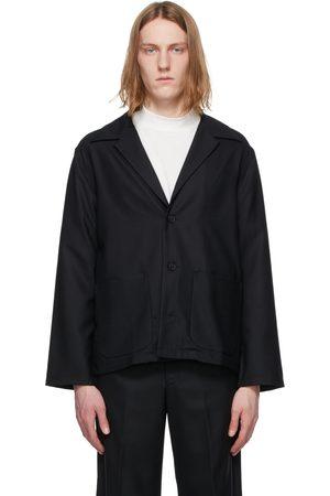 Sasquatchfabrix. Wool Tailored Shirt Jacket