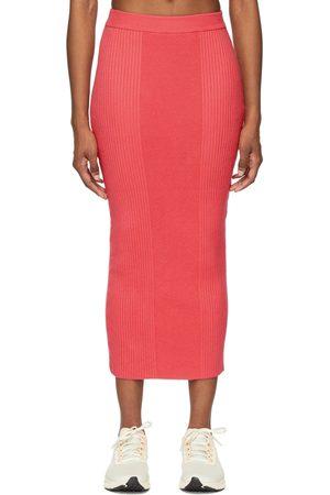 Victor Glemaud Women Maxi Skirts - Variegated Rib Skirt