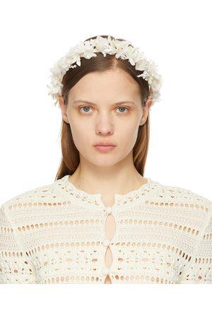 Saint Laurent Small Flower Crown Headband