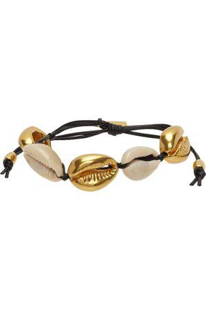 Saint Laurent And Cowrie Shell Bracelet