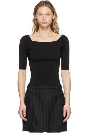 Saint Laurent Women T-shirts - Scoop Body T-Shirt
