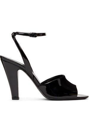 Saint Laurent Patent Scandale Heeled Sandals