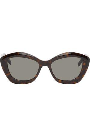 Saint Laurent Tortoiseshell SL 68 Sunglasses