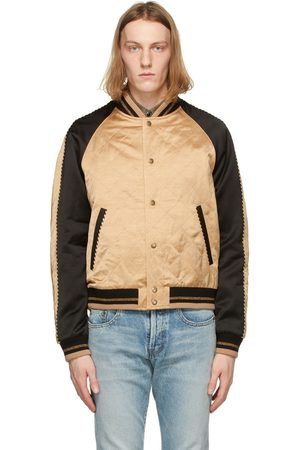 Saint Laurent Quilted Teddy Bomber Jacket