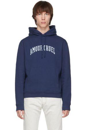 Saint Laurent Navy Amour Cruel Hoodie