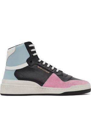 Saint Laurent And SL24 High-Top Sneakers
