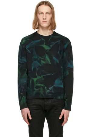 Saint Laurent And Tie-Dye Rive Gauche Logo Sweatshirt