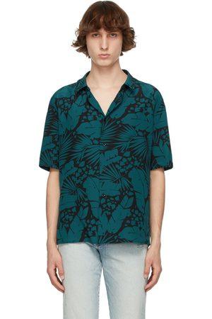 Saint Laurent Men Short sleeves - And Crepe De Chine Short Sleeve Shirt
