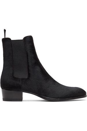 Saint Laurent Pony Wyatt Chelsea Boots