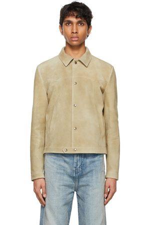 Saint Laurent Suede Short Jacket