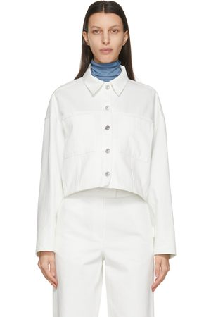 LVIR Women Denim Jackets - Wool Oversized Denim Jacket