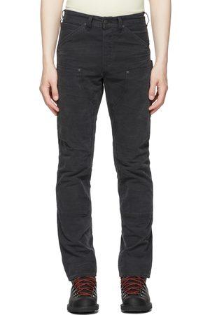 RRL Black Jenkins Carpenter Trousers
