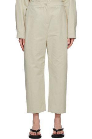 AMOMENTO Square Pocket Trousers