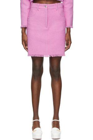 Msgm Tweed Miniskirt