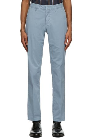 Dunhill Men Chinos - Cotton Twill Chino Trousers