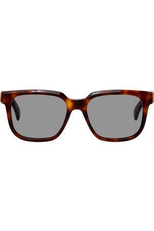 Dunhill Tortoiseshell Acetate Square Sunglasses