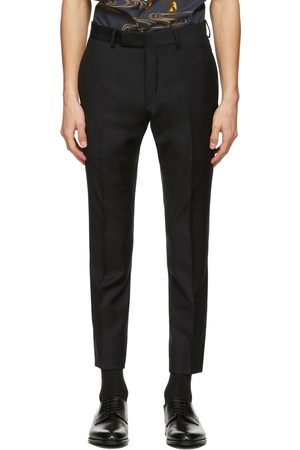 Dunhill Navy Wool Mayfair Trousers