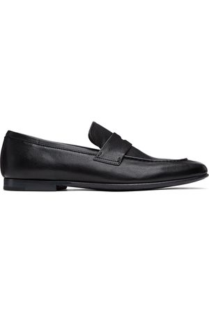 Dunhill Soft Chiltern Patina Loafers
