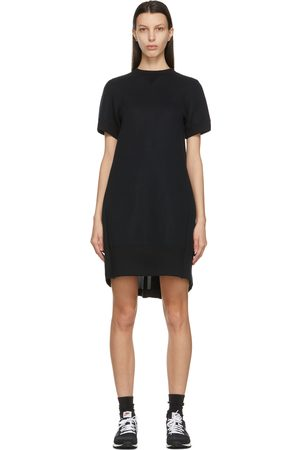 SACAI Women Dresses - Sponge Sweat T-Shirt Dress