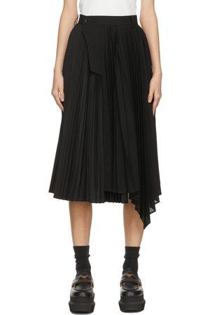 SACAI Pleated Side Closure Skirt