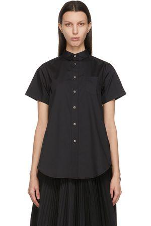 SACAI Poplin Wide Short Sleeve Shirt