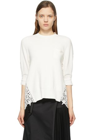 SACAI Women Sweaters - Star Embroidered Pullover