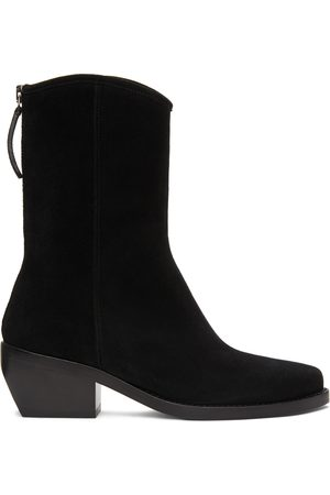 LEGRES Women Ankle Boots - Suede Western Boots