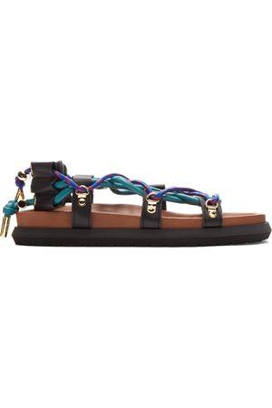 SACAI Men Sandals - Double Lace-Up Sandals