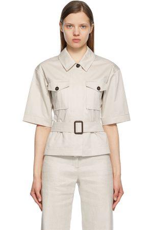 Max Mara Rea Belted Shirt
