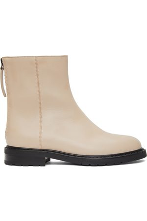 LEGRES Leather Officer Boots