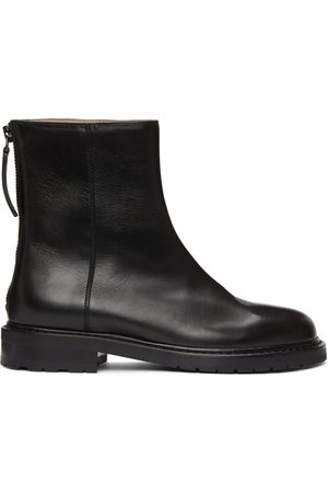 LEGRES Women Ankle Boots - Leather Officer Boots