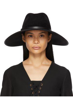 Gucci Felt Wide Brim Horsebit Panama Hat
