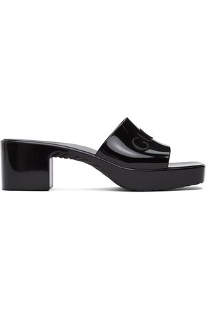 Gucci Women Sandals - Rubber Slide Sandals