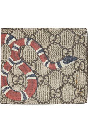 Gucci Men Wallets - GG Supreme Kingsnake Wallet