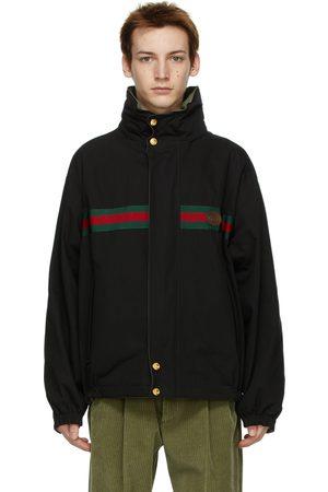 Gucci Men Jackets - Reversible Ripstop Jacket