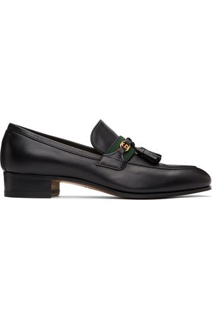 Gucci Men Loafers - Web Interlocking G Loafers