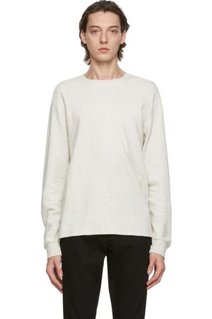 Frame Men Long Sleeve - Grey Crew Long Sleeve T-Shirt