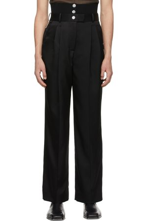 Peter Do Rib Combo Tailored Trousers